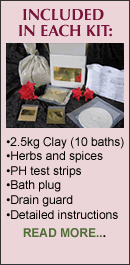 clay baths